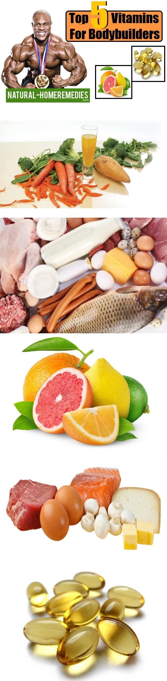 Top 5 Vitamins For Bodybuilders