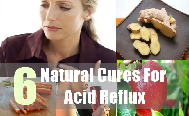 6 Natural Cures For Acid Reflux