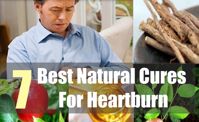 7 Best Natural Cures For Heartburn