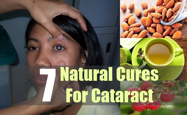 7 Natural Cures For Cataract