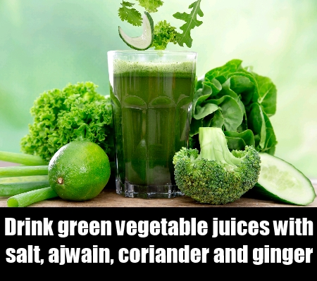 Green Vegetable Juices
