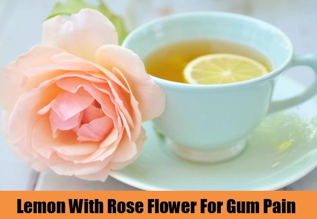 Lemon With Rose Flower
