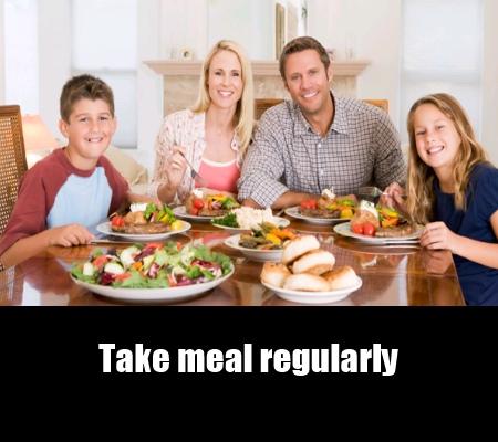 Never Skip Meals