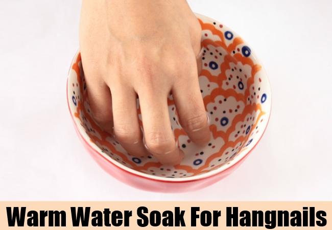 Warm Water Soak