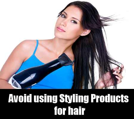Avoid Using Styling Products