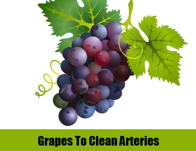 Grapes To Clean Arteries