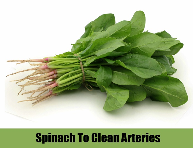 Spinach To Clean Arteries