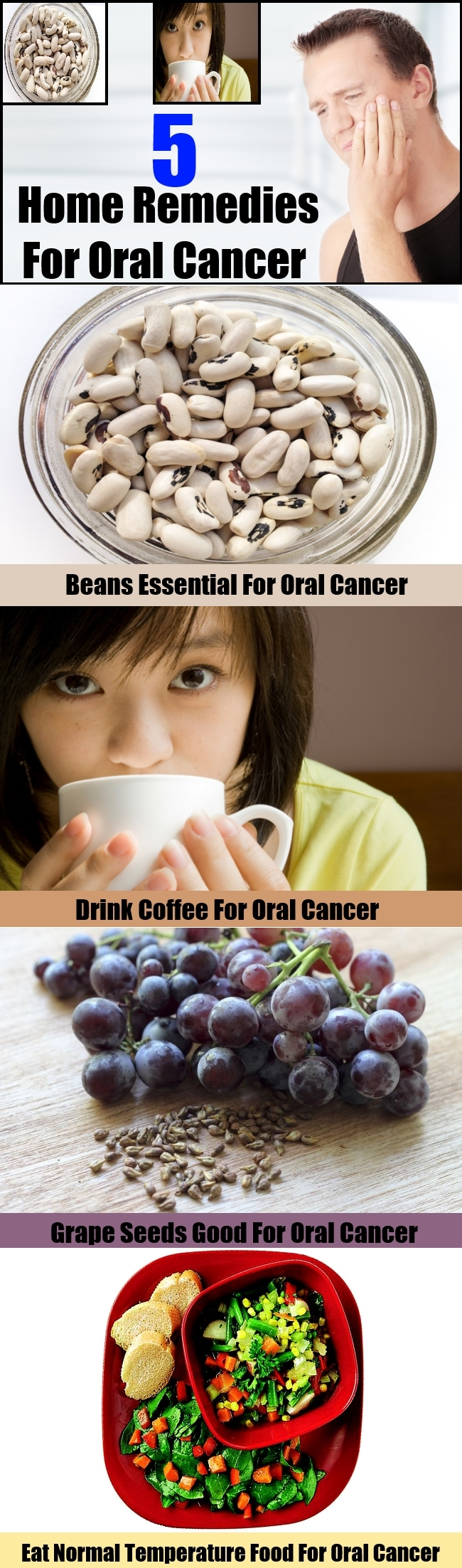 Top 5 Home Remedies For Oral Cancer
