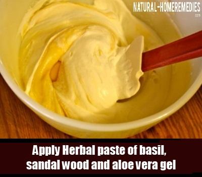 herbal paste