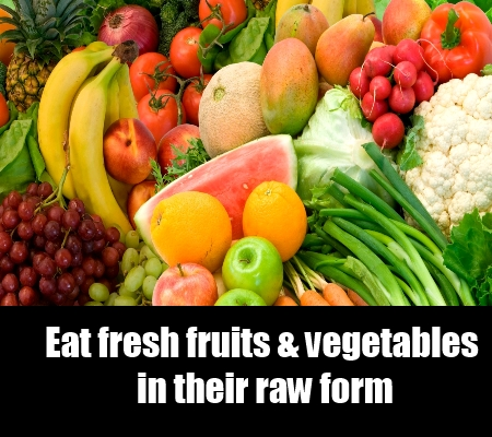 Green Vegetables And Fruits For Reduction Of Fibroids