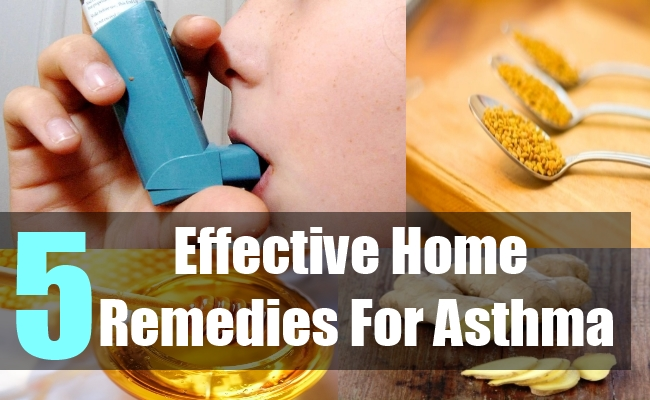 5 Effective Home Remedies For Asthma