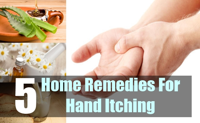 5 Home Remedies For Hand Itching