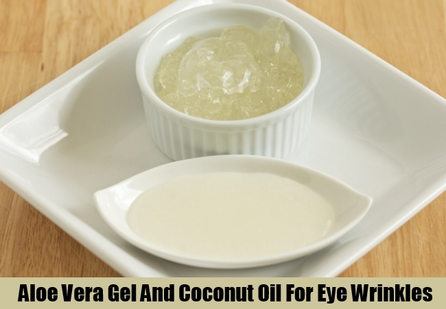 Aloe Vera Gel And Coconut Oil