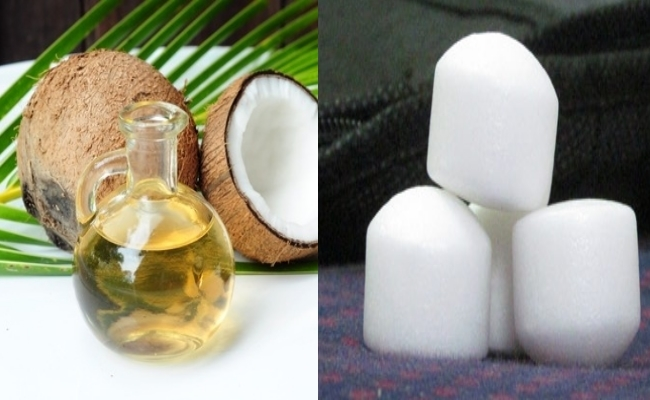 Camphor And Coconut Oil