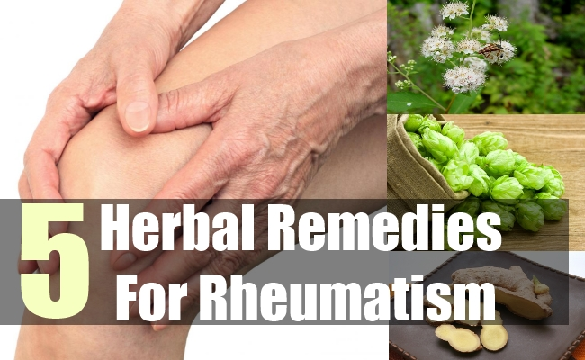 5 Herbal Remedies For Rheumatism
