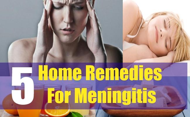 5 Home Remedies For Meningitis