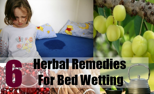 6 Herbal Remedies For Bed Wetting
