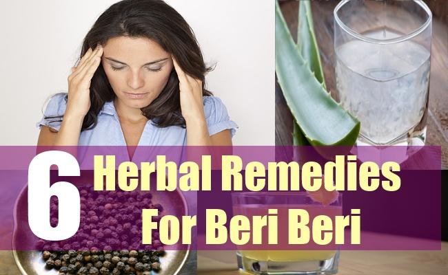 6 Herbal Remedies For Beri Beri