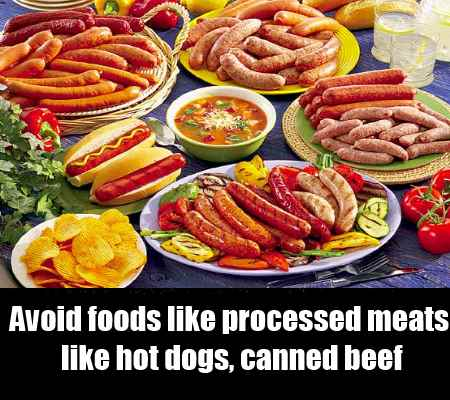 Avoid Processed Foods