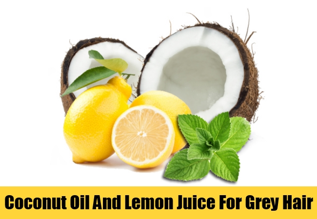 Coconut Oil And Lemon Juice