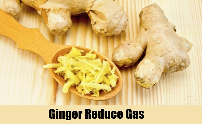 Ginger Reduce Gas