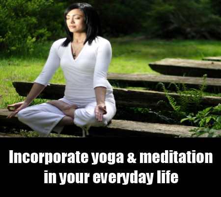Practice Meditation And Yoga