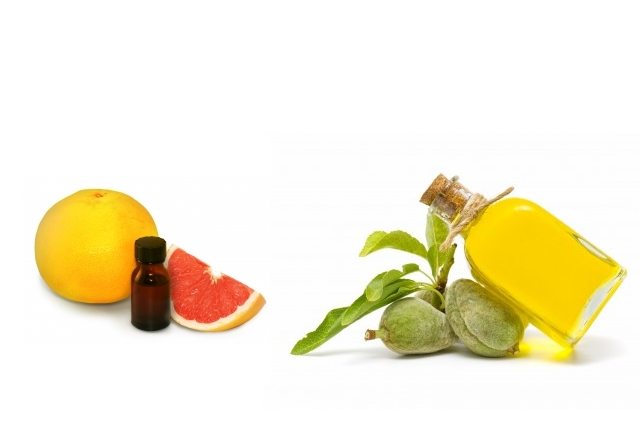 Almond Oil And Grapefruit Essential Oil
