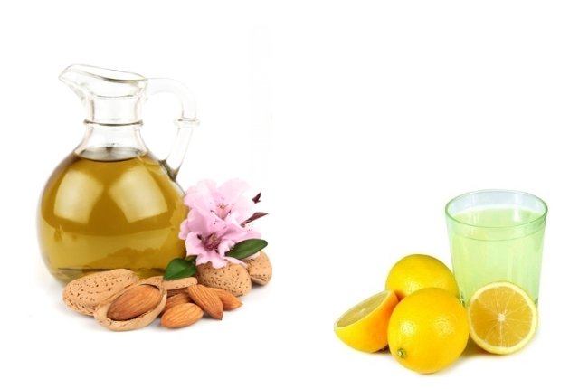 Amalgamation of Almond Oil and Lemon Juice