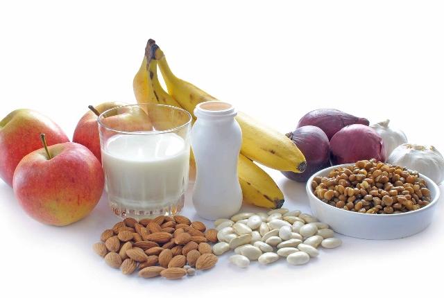 Eat probiotic and prebiotic foods