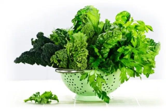 dark green leafy