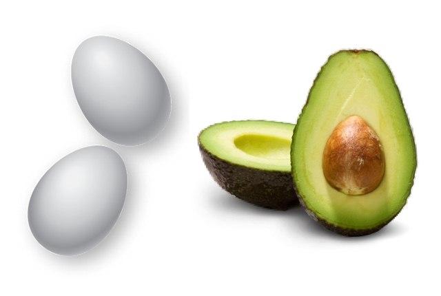 Amalgamation of Egg And Avocado Hair Mask