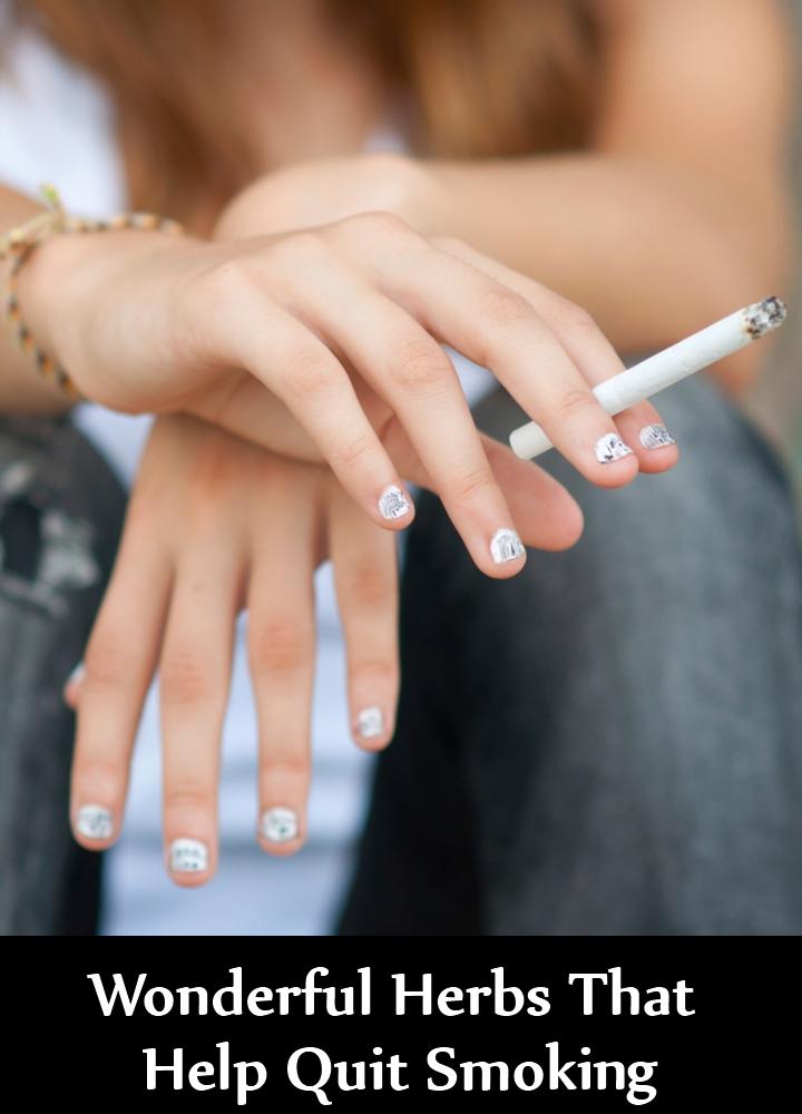 Wonderful Herbs That Help Quit Smoking