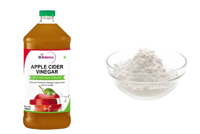 Baking Soda With Apple Cider Vinegar