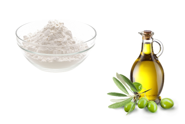 Baking Soda With Olive Oil