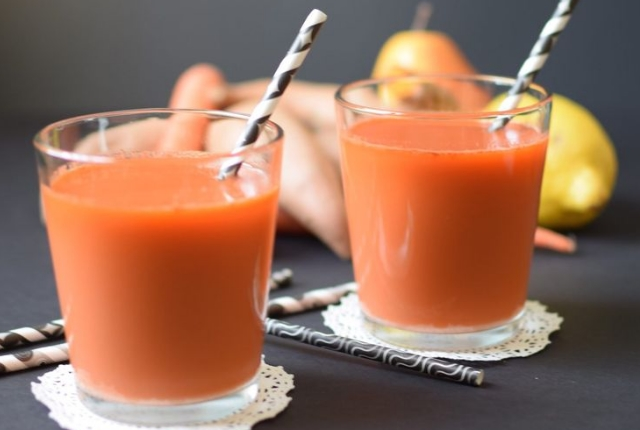 Carrot And Sweet Potato Juice