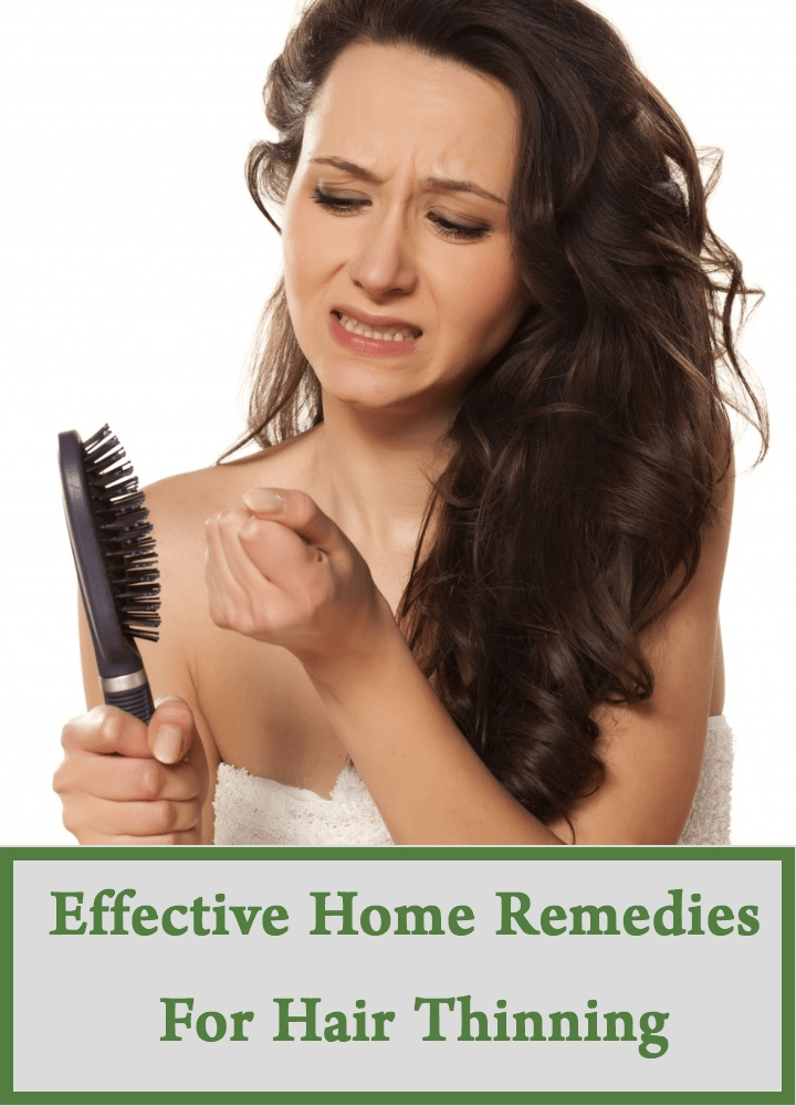 Effective Home Remedies For Hair Thinning