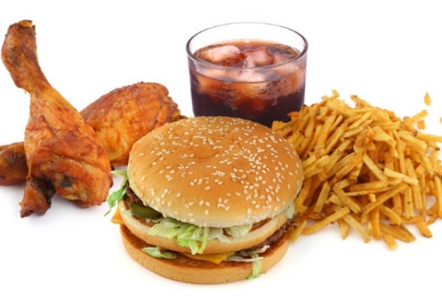 Fast Food And Carbonated Drinks