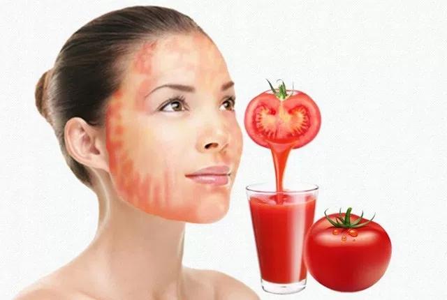 Massage With Tomato Slice