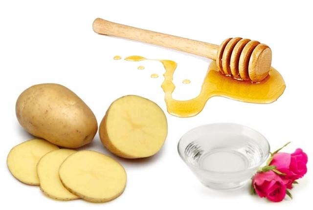 Rose-water, Honey And Potato
