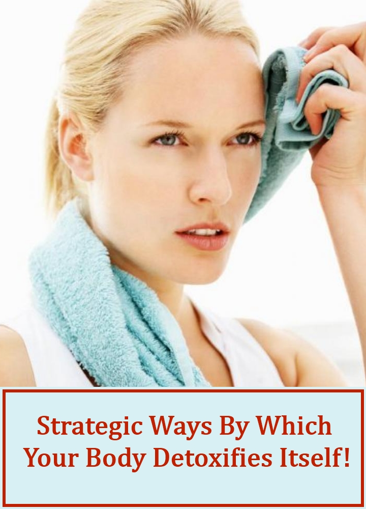 Strategic Ways By Which Your Body Detoxifies Itself!