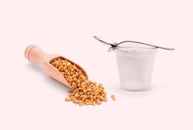 Yogurt And Fenugreek