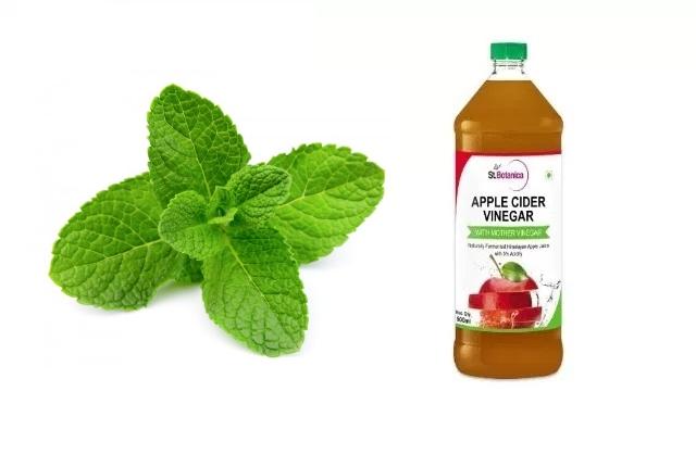 Apple Cider Vinegar And Mint Mask