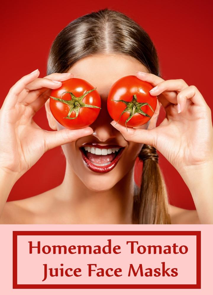 Homemade Tomato Juice Face Masks