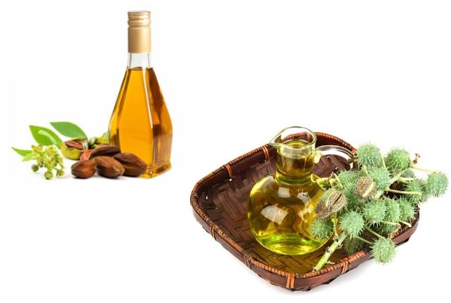 Jojoba Oil And Castor Oil Massage