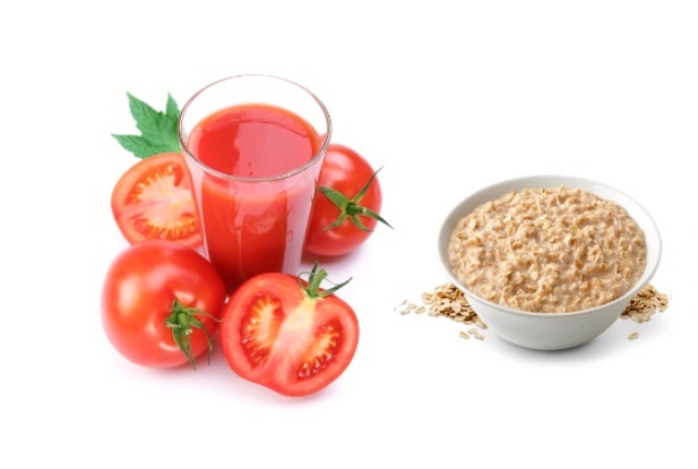 Tomato With Crushed Oat Pack
