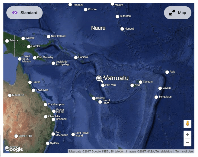 Where vanuatu is south pacific at natural organic living shop there are direct flights to here from australia fiji new zealand and new caledonia gumiabroncs Images