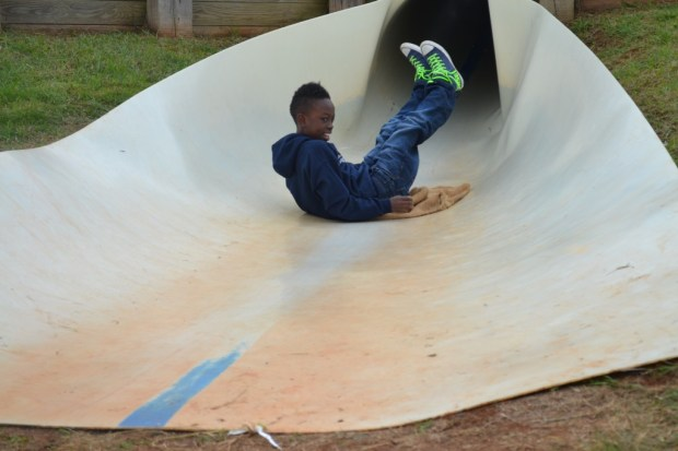 Slide at Rock Ranch