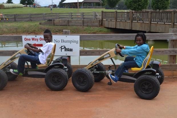 Pedal Carts at Rock Ranch