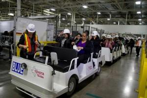 Lets Go Places Toyota Plant Tour
