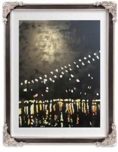 Down Under the Brooklyn Bridge limited edition print by JaxRobyn